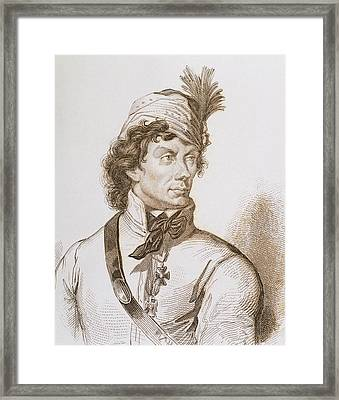Kosciuszko, Tadeusz (1746-1817 Framed Print