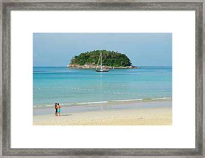Kota Beach, Poo Island, Phuket Framed Print