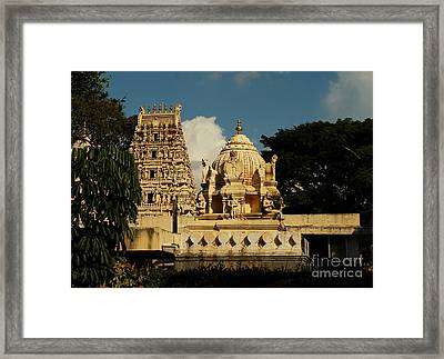 Kote Venkataramana Temple Framed Print by Mini Arora