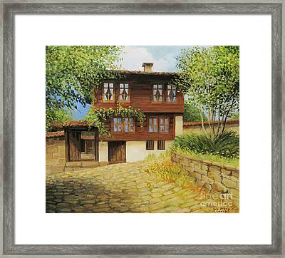 Kotel The Ethnographic Museum Framed Print by Kiril Stanchev