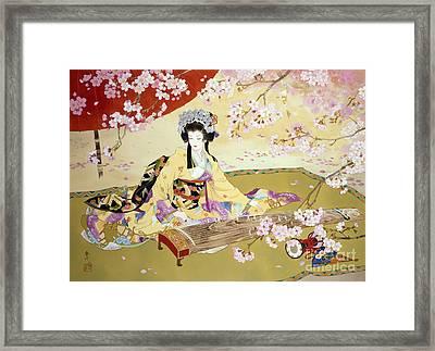 Kotono Framed Print by Haruyo Morita