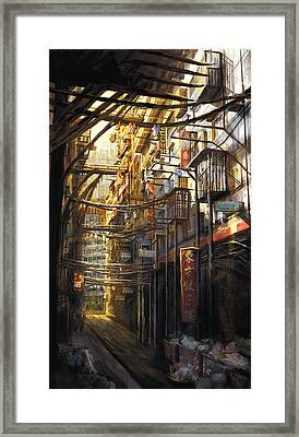 Kowloon Framed Print by Anthony Christou