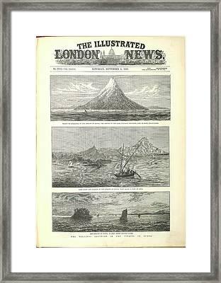 Krakatoa Framed Print