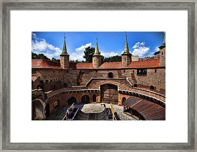 Krakow Barbican  Framed Print by Joanna Madloch