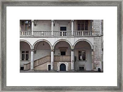 Krakow Castle Wawel Framed Print