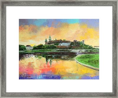 Krakow - Wawel Castle Framed Print