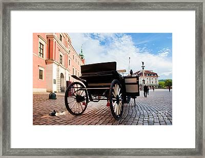 Krakowskie Przedmiescie Warsaw Poland Framed Print