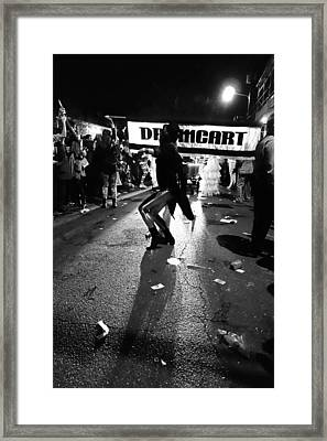 Krewe Delusion In New Orleans Framed Print