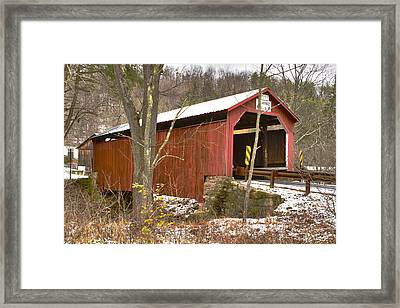 Krickbaum Bridge  Framed Print