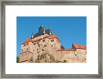 Kriebstein Castle Germany Framed Print by Michael Defreitas