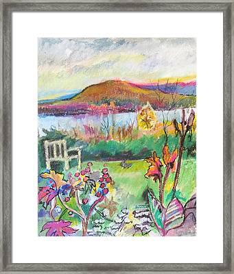 Kripalu View Framed Print