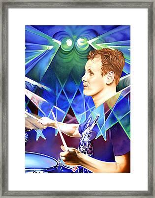 Kris Myers Framed Print by Joshua Morton