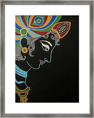 Krishna II Framed Print