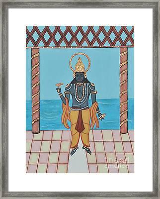 Krishna Framed Print by Pratyasha Nithin