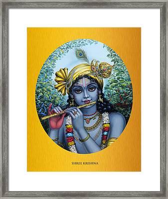 Krishna Framed Print by Vrindavan Das