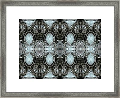 Krix Krax  - Digital Manipulation 2 Framed Print by Otto Rapp