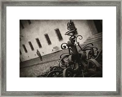 Krizem Krazem Framed Print by Taylan Apukovska