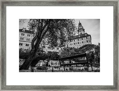 Krumlov Castle Framed Print