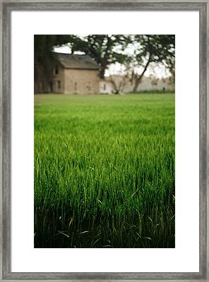 Ks Farm Framed Print
