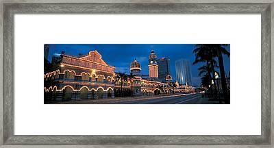 Kuala Lumphur Malaysia Framed Print
