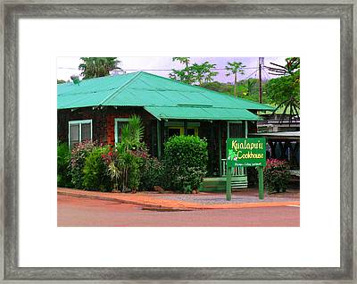 Kualapuu Cookhouse Framed Print by James Temple