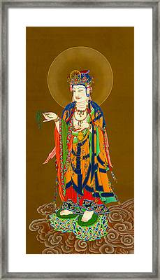 Kuan Yin Bodhisattva 1 Framed Print by Lanjee Chee
