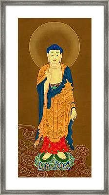 Kuan Yin Bodhisattva Framed Print by Lanjee Chee