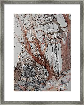 Kudzu Winter Framed Print