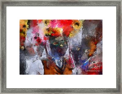 Framed Print featuring the painting Kuker by Georgi Dimitrov