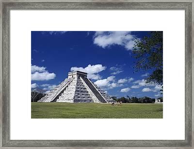 Kukul. S.xi-s.xii. Mexico. Yucat�n Framed Print