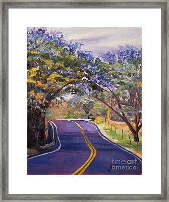 Kula Cruising Framed Print by Jennifer Beaudet
