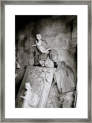 Kumartuli Angel Framed Print by Shaun Higson
