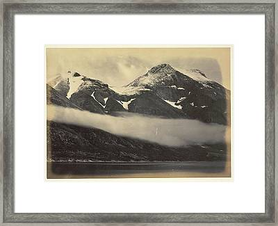 Kunal Mountain Framed Print by British Library