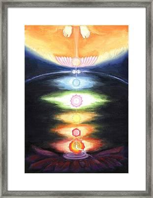 Kundalini Awakening Framed Print by Shiva Vangara