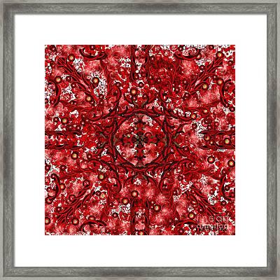 Kundalini Energy Framed Print by Barbara Chichester