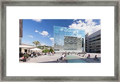 Kunstmuseum Stuttgart Museum Framed Print by Panoramic Images