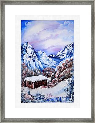 Kurdish House Framed Print by Shirwan Ahmed
