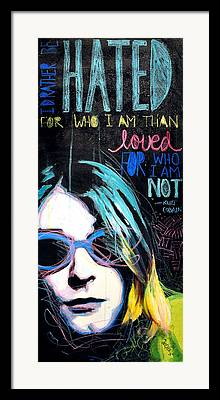Paint Markers Framed Prints