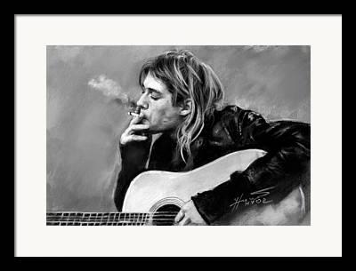 Guitare Framed Prints