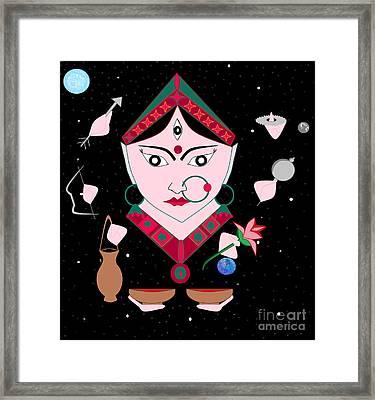 Kushmaanda Framed Print by Pratyasha Nithin