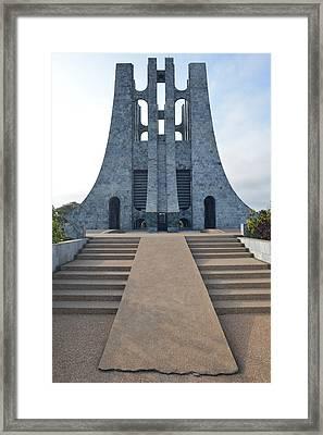 Kwame Nkrumah Memorial Park Framed Print by Ronda Broatch