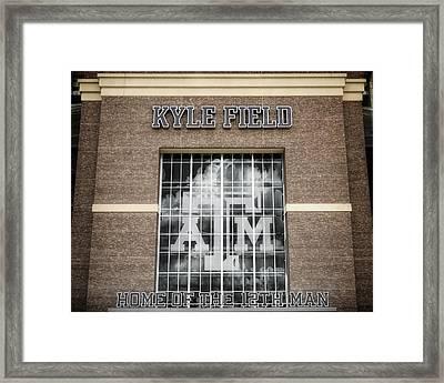 Kyle Field Framed Print