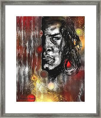 Kyle Framed Print by Francoise Dugourd-Caput