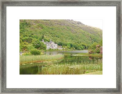 Framed Print featuring the photograph Kylemore Abbey 1 by Mary Carol Story