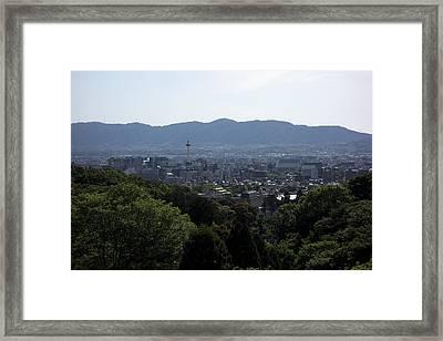 Kyoto Japan Framed Print