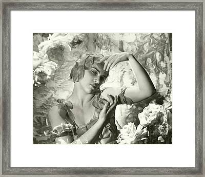 Kyra Nijinsky In Le Spectre De La Rose Framed Print by Cecil Beaton