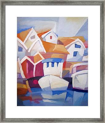 Kyrkesund Sweden Framed Print by Lutz Baar