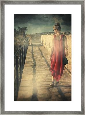 Kysos Framed Print by Taylan Apukovska