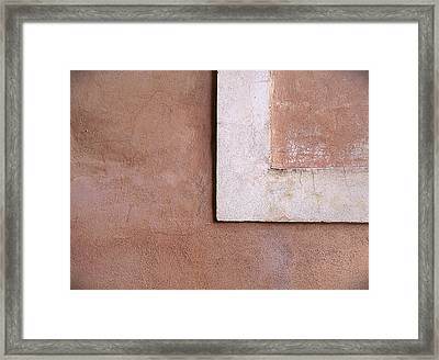 L Framed Print by A Rey