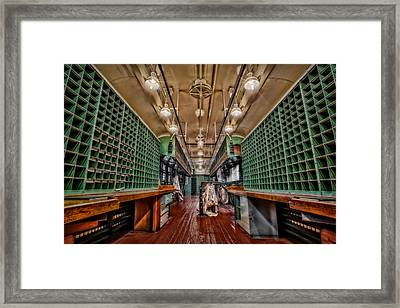 L And N Rr 1100 Framed Print by Susan Candelario
